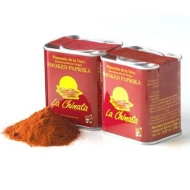 Sweet Smoked Spanish Paprika from La Vera by La Tienda- 2 PK